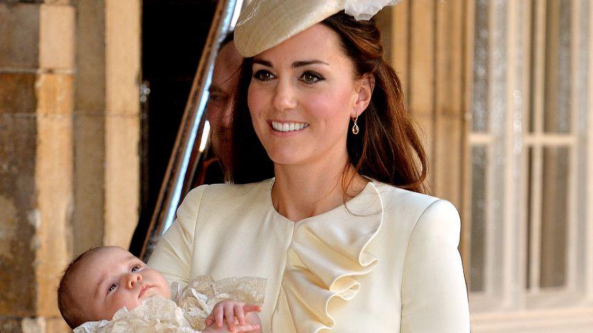 Herzogin Kate bei der Taufe von Prinz George