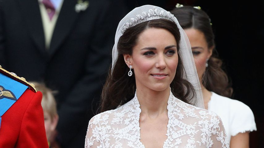 Herzogin Kate bei ihrer Hochzeit 2011