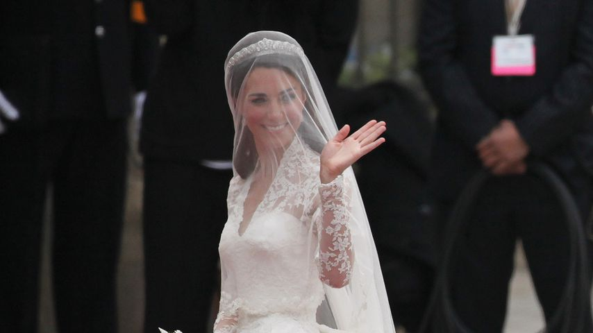 Herzogin Kates Hochzeitskleid: 4 süße Geheimnisse enthüllt!