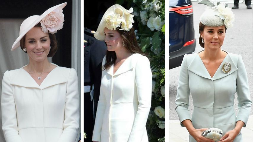 Herzogin Kate: DIESES Outfit hat es ihr wirklich angetan!