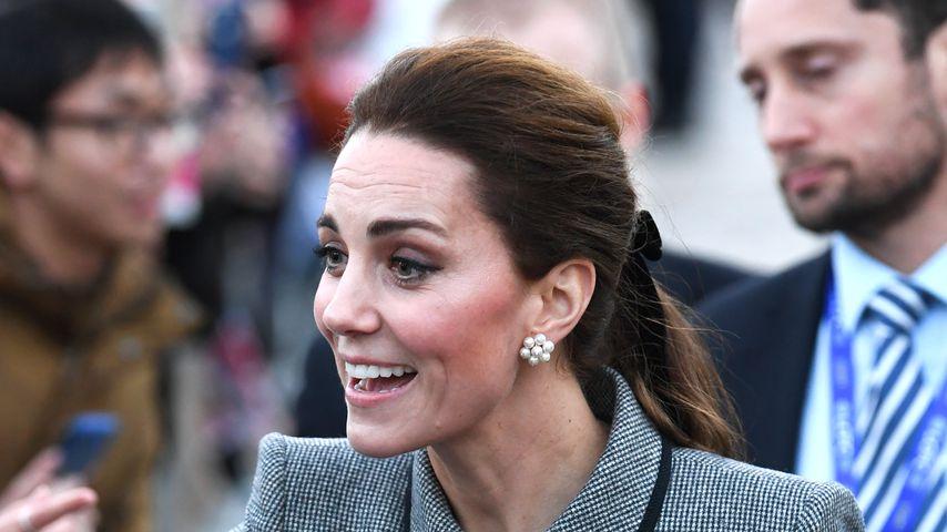 Herzogin Kate beim Besuch der Leicester University im November 2018