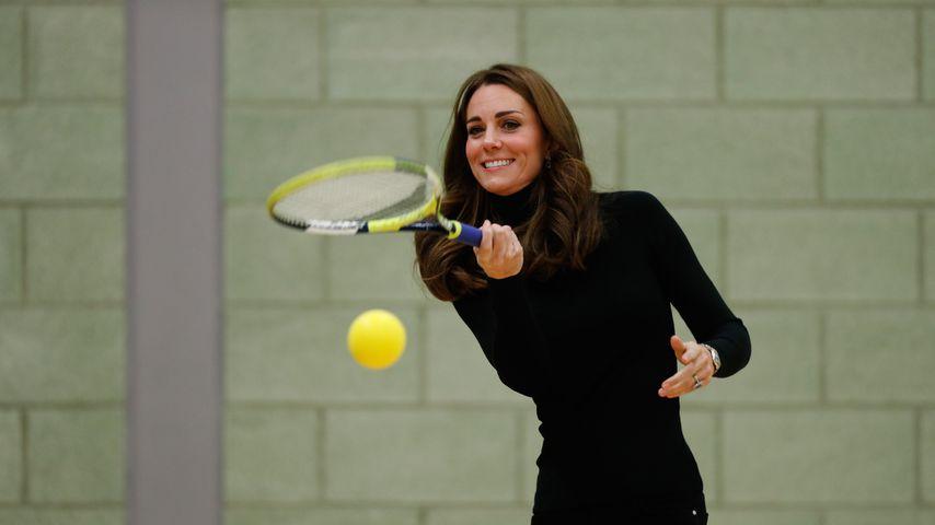 Herzogin Kate von Cambridge bei einer Veranstaltung des Coach-Core-Programms