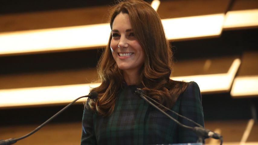 Herzogin Kate bei einer Rede in der Stadt Dundee