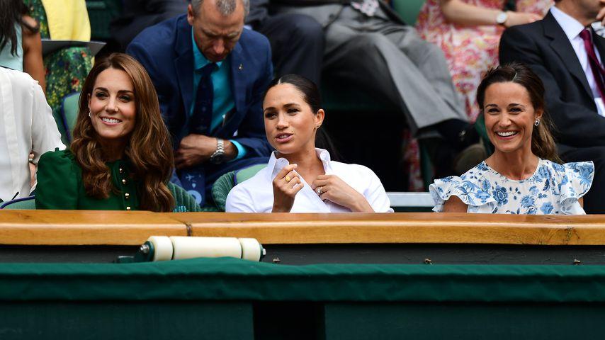 Herzogin Kate, Herzogin Meghan, Pippa Middleton im Juli 2019
