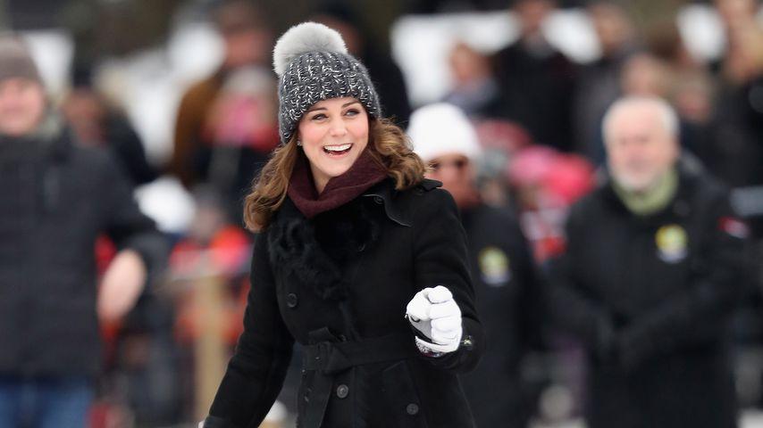 Herzogin Kate in Stockholm 2018