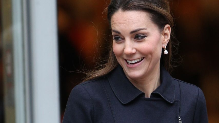 Patentante! Herzogin Kate ist stolze Taufpatin