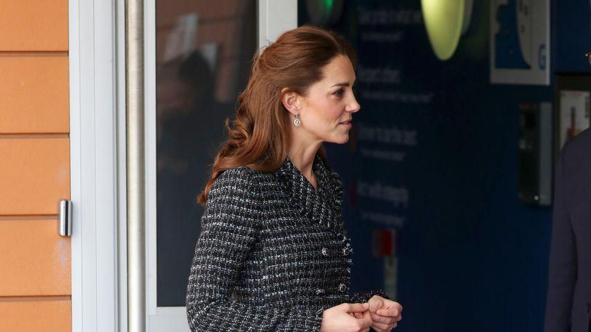 Herzogin Kate beim Besuch des Evelina Children's Hospitals in London im Januar 2020
