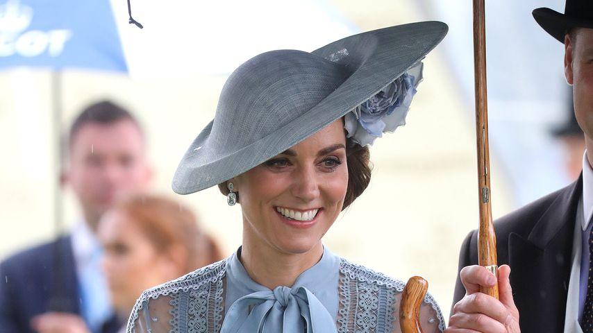 Kates Ascot-Auftritt: Ist hier etwa ein Babybauch zu sehen?