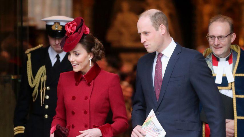 Herzogin Kate und Prinz William, März 2020