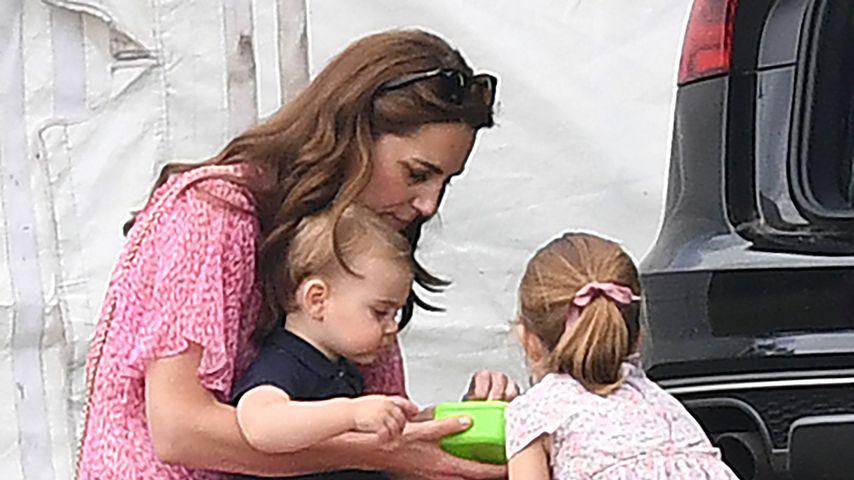 Bei Williams Polo-Turnier: Kate herrlich normal mit den Kids