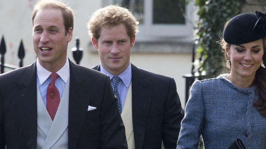 Harry, William und Kate: So sehen echte Royals aus