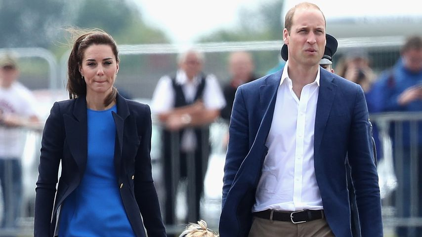 Herzogin Kate, Prinz George und Prinz William beim  Royal International Air Tattoo in Fairford