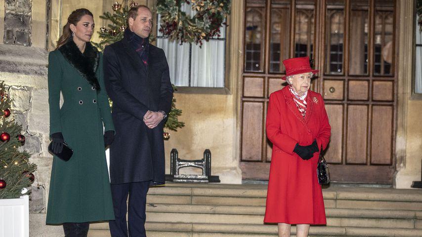 An Weihnachten: Herzogin Kate schlug Einladung der Queen aus