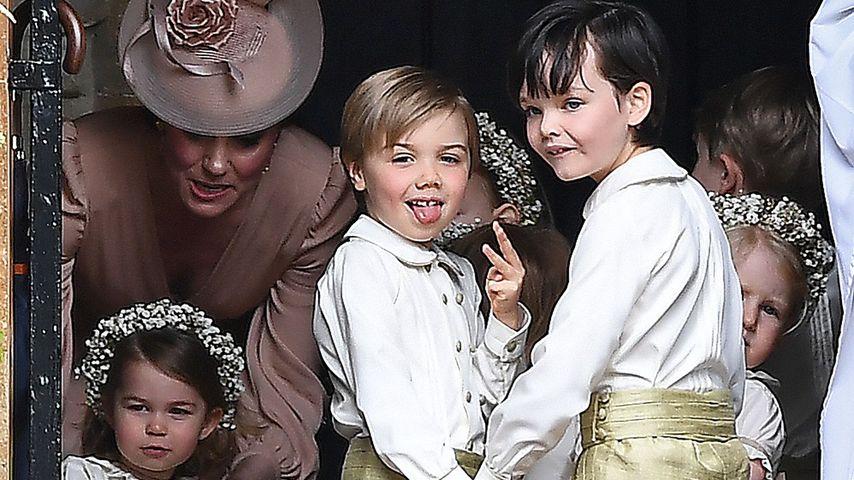 Pippa Middletons Pageboy: Stahl ER Prinz George die Show?