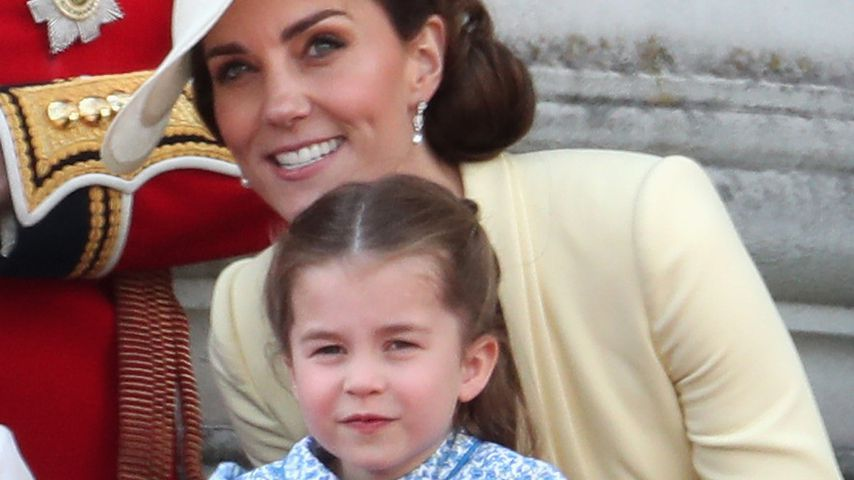 Herzogin Kate und Prinzessin Charlotte beim Trooping The Colour, 2019