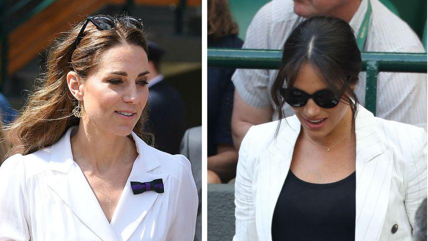Kate vs. Meghan: Sie trägt den schöneren Wimbledon-Look!