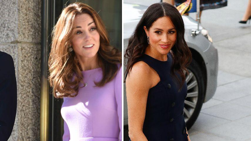 Was Kate im ganzen Jahr trägt: Meghans teure Reisegarderobe