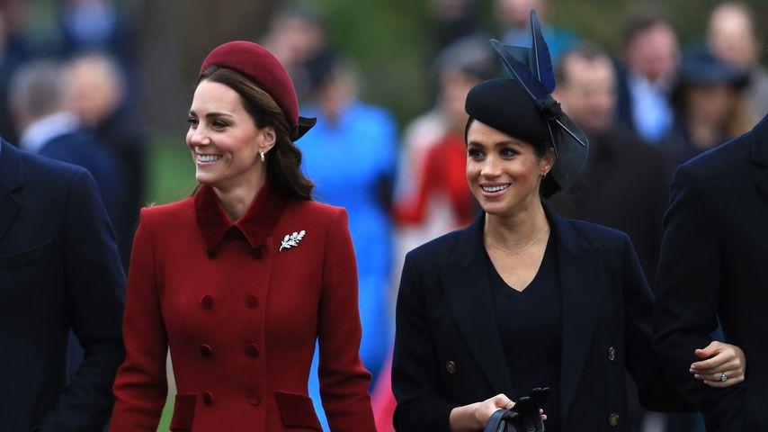 Herzogin Kate und Herzogin Meghan, Dezember 2018