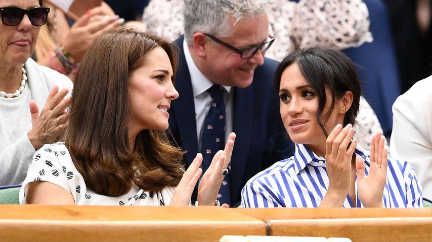 Herzogin Kate und Herzogin Meghan im Juli 2018