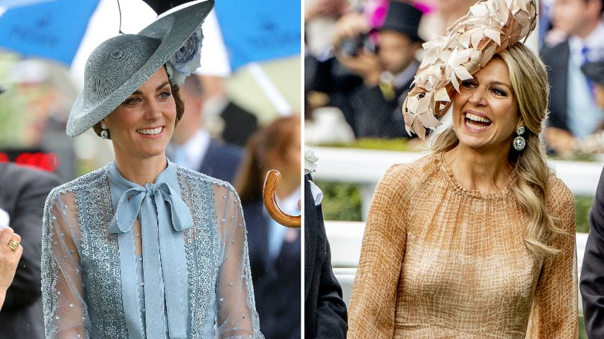 Kate vs. Maxima: Welche Royal-Lady ist in Ascot stylischer?