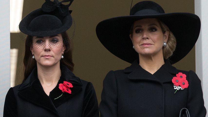 Gedenkfeier: Herzogin Kate & Königin Maxima ganz in Schwarz