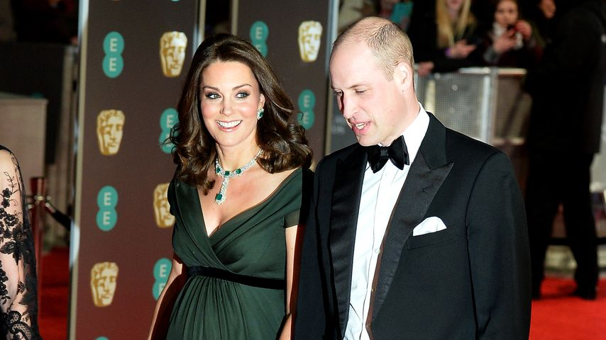 Herzogin Kate und Prinz William bei den BAFTA Awards