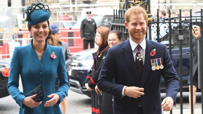 Herzogin Kate und Prinz William am 25. April 2019 in London