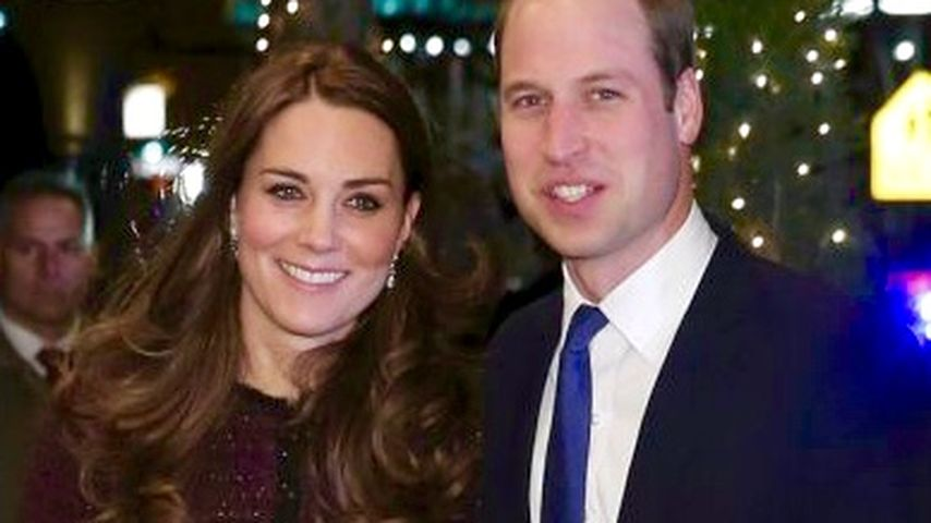 Frühstück für ihre Fans: William und Kate sind spendabel!