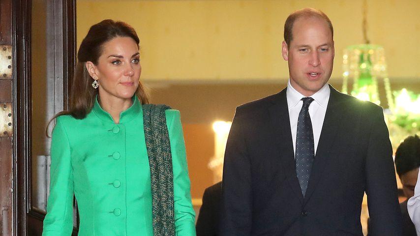 Bei Pakistan-Besuch: Rührender Diana-Moment für William!