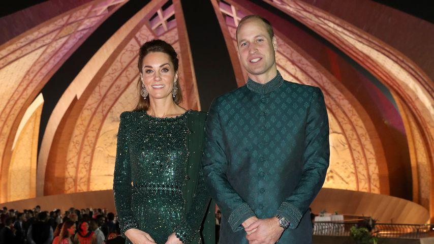 Herzogin Kate und Prinz William bei einer Gala in Islamabad