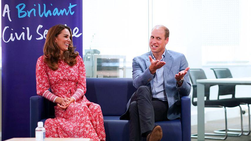 Herzogin Kate und Prinz William im September 2020