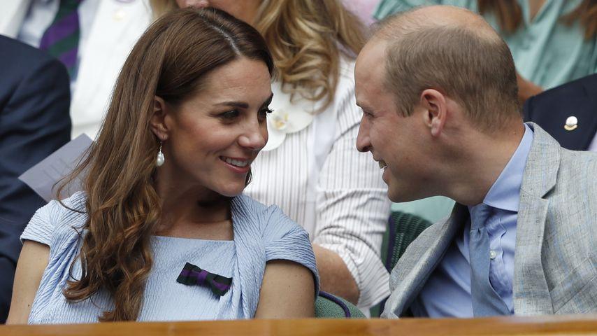 Herzogin Kate und Prinz William im Juli 2020