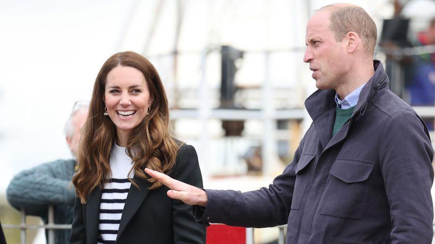 Herzogin Kate und Prinz William in Fife