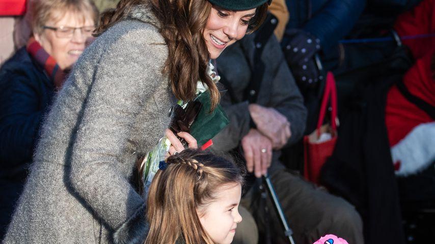 Herzogin Kate und Prinzessin Charlotte an Weihnachten 2019
