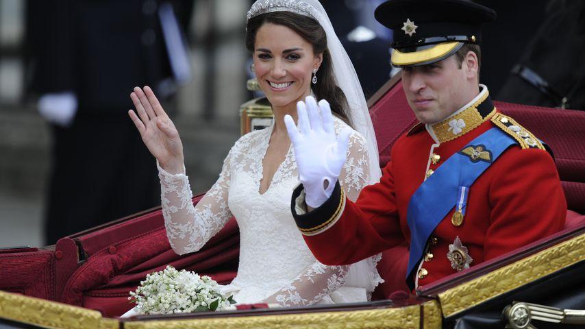 Erwartungsvoll! William & Kate feiern ihren 4. Hochzeitstag