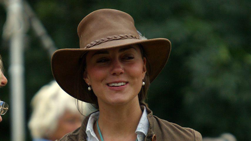 Herzogin Kate auf dem Gatcombe Park Festival, 2005