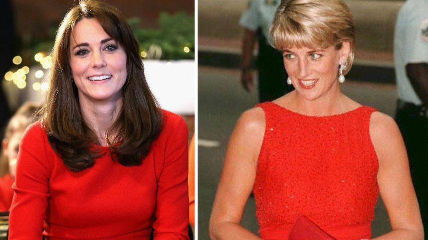 Königin der Herzen 2.0: Kate ist die moderne Lady Di (†36)