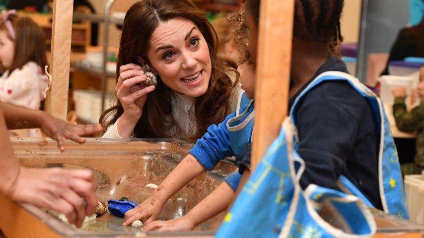 Herzogin Kate in einem Kindergarten in Stockwell