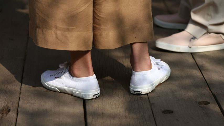 Herzogin Kates Sneaker bei der Chelsea Flower Show im Mai 2019