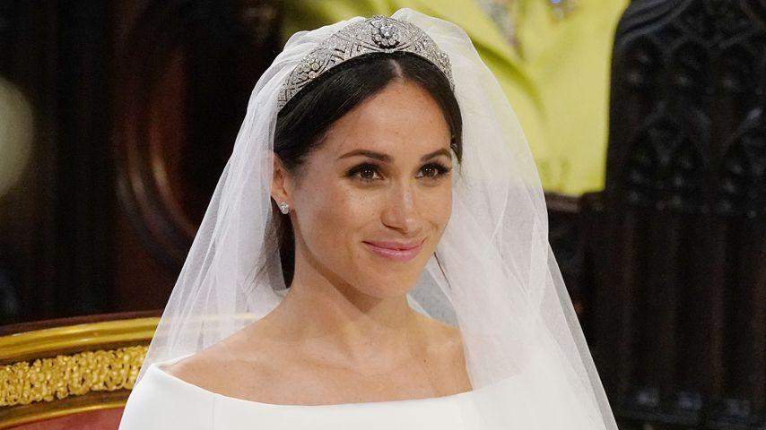 Herzogin Meghan bei ihrer Hochzeit im Mai 2018
