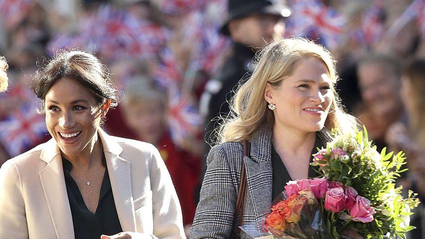 Herzogin Meghan und Amy Pickerill im Oktober 2018