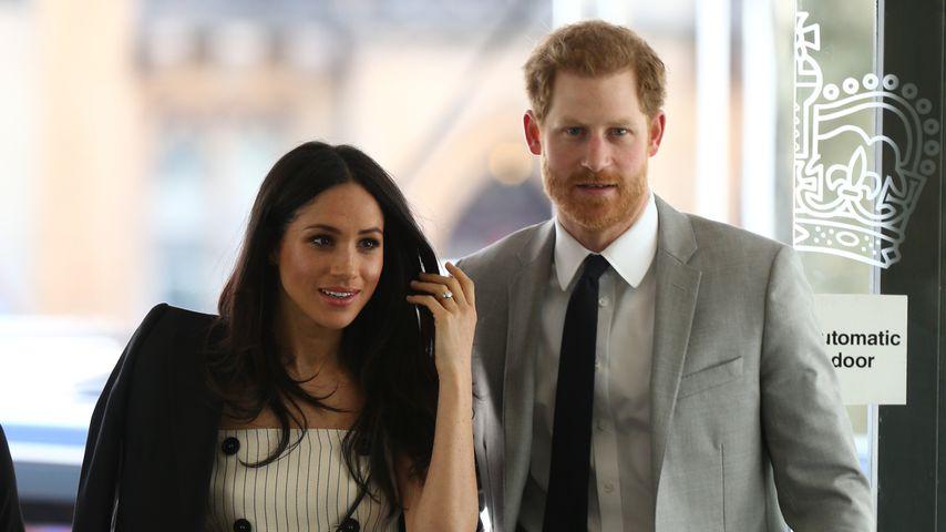 Herzogin Meghan und Prinz Harry im April 2018
