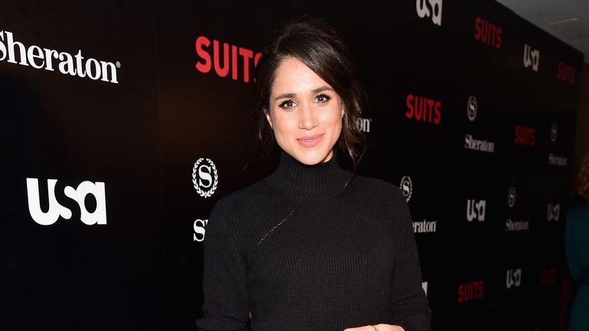 """Herzogin Meghan auf dem roten Teppich der """"Suits""""-Staffel-5-Premiere in Los Angeles 2016"""