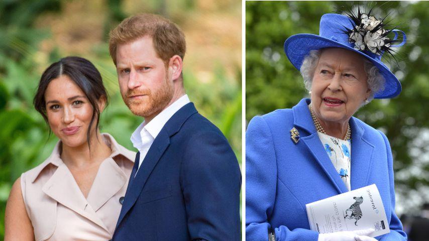 Namenshommage: Weihten Meghan und Harry die Queen vorab ein?
