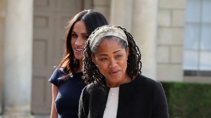 Herzogin Meghan mit ihrer Mutter Doria Ragland