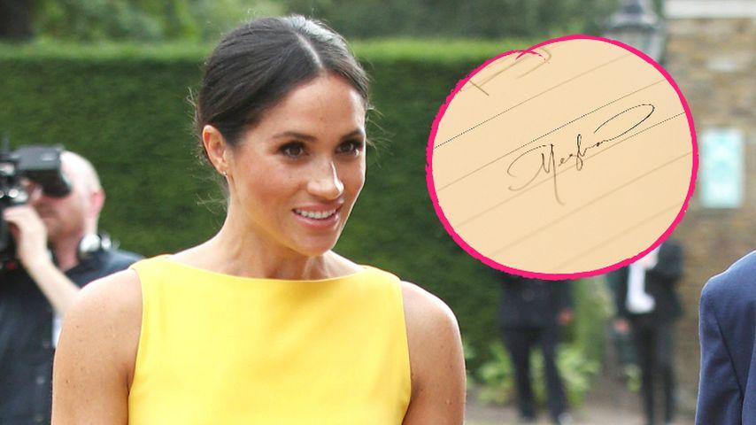 Nach ihrer Hochzeit: Herzogin Meghan hat neue Unterschrift!