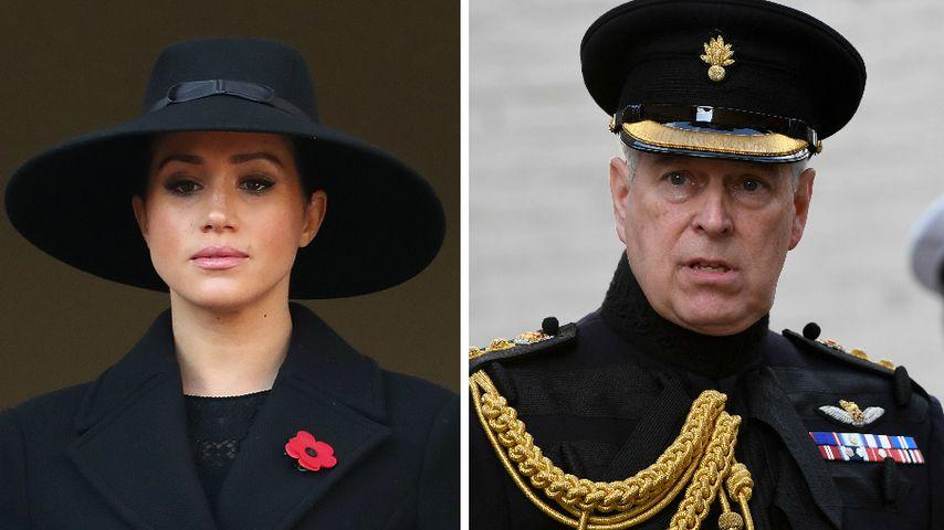 Neue Umfrage: Meghan und Prinz Andrew unbeliebteste Royals