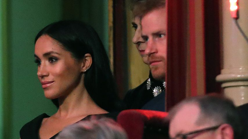 Herzogin Meghan und Prinz Harry am Remembrance Day in London