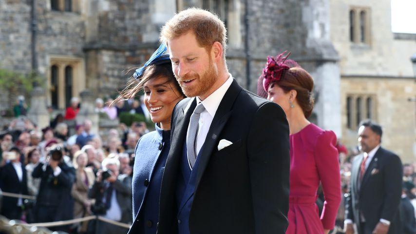 Meghan & Harry: Baby-News bei Eugenies Hochzeit erzählt