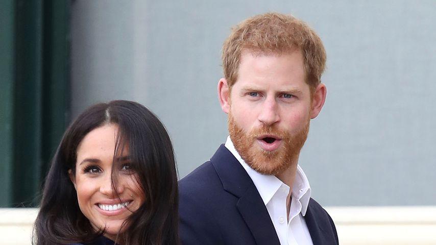 Herzogin Meghan und Prinz Harry in Australien, 2018